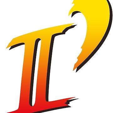 Street Fighter II DASH logo tee by marcus32x
