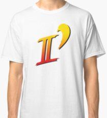 Street Fighter II DASH logo tee Classic T-Shirt