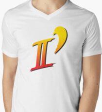Street Fighter II DASH logo tee Men's V-Neck T-Shirt