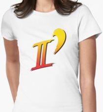 Street Fighter II DASH logo tee Women's Fitted T-Shirt