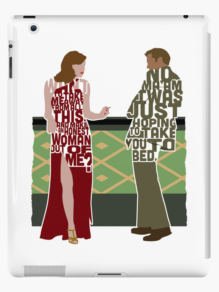Emma Stone & Ryan Gosling from Gangster Squad Typography Design of Their Conversation by Grantedesigns  :)