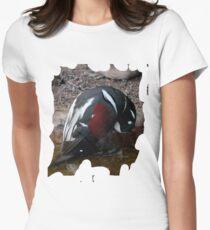 Penguin Shirt Womens Fitted T-Shirt