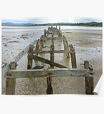 The Old Pier Of Fahan Poster