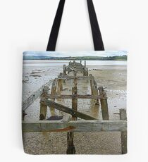 The Old Pier Of Fahan Tote Bag