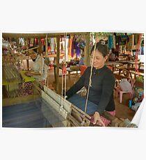 Weaving 2 Poster