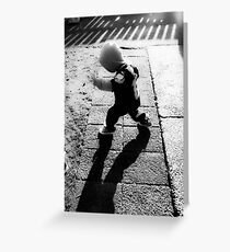Little Spider Man Greeting Card
