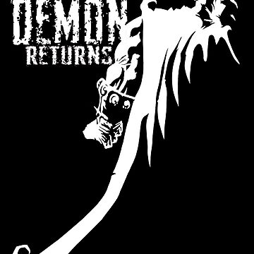 The Demon Returns (White) by mannart