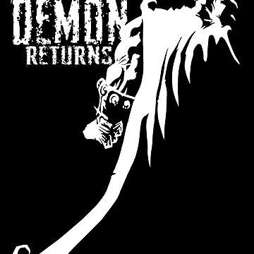 The Demon Returns (White) by mannart