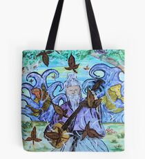 """""""Fall's Song"""" by Carter L. Shepard Tote Bag"""