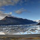 Flaajokull Glacial Lagoon by Peter Hammer