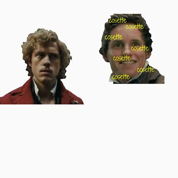 Enjolras and Marius by tellmewhyoustay