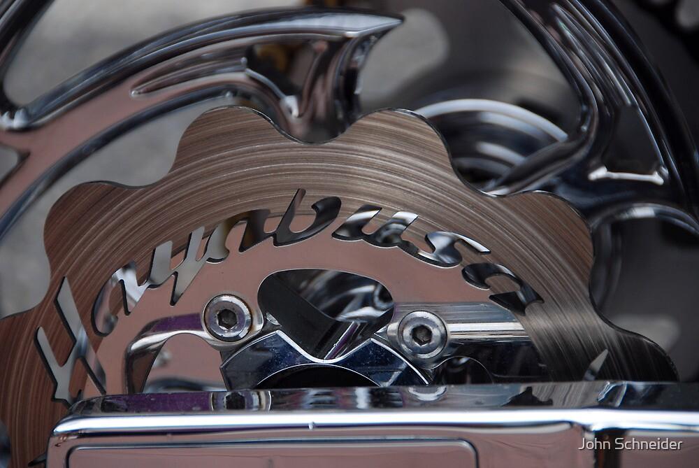Disc Brake.... Motorcycle by John Schneider