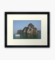 Ha Long Bay, Vietnam Framed Print