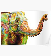 Tilly The Silly Elephant Poster