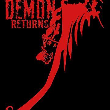The Demon Returns by mannart