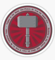 Ancient Order of the Hammer Sticker