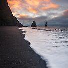 Black Sand Beach by Luka Skracic