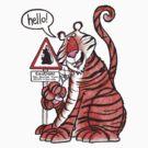 Over-familiar tiger by dotmund