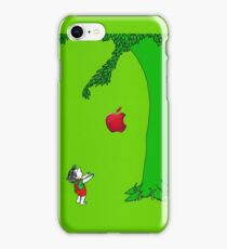 The giving tree apple iPhone Case/Skin
