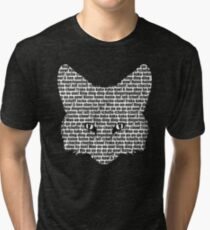 What Does the Fox Say? Tri-blend T-Shirt