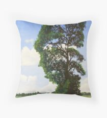 Landscape with Tree Throw Pillow