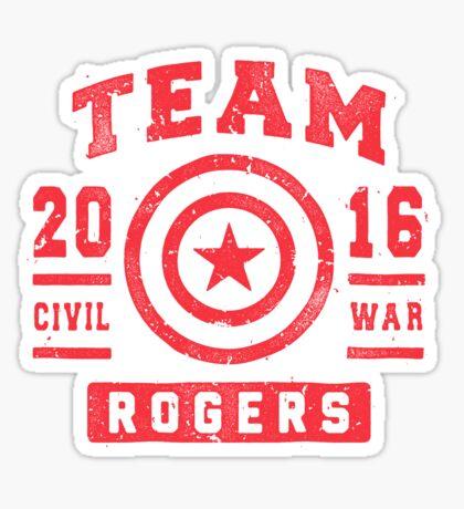 TEAM ROGERS Sticker