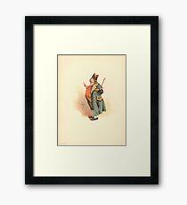 Vintage Charles Dickens Oliver Twist Mr. Bumble Framed Print