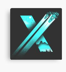 XENO CROSS Canvas Print