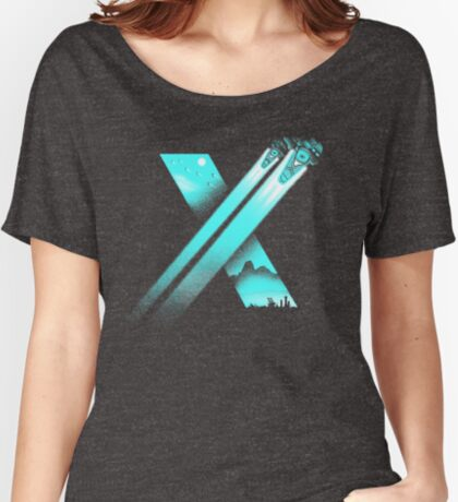 XENO CROSS Women's Relaxed Fit T-Shirt