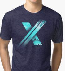 XENO CROSS Tri-blend T-Shirt