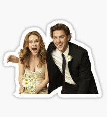Jim and Pam Halpert Sticker