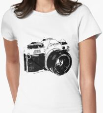 Vintage Canon Camera Women's Fitted T-Shirt