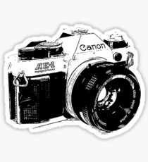 Vintage Canon Camera Sticker
