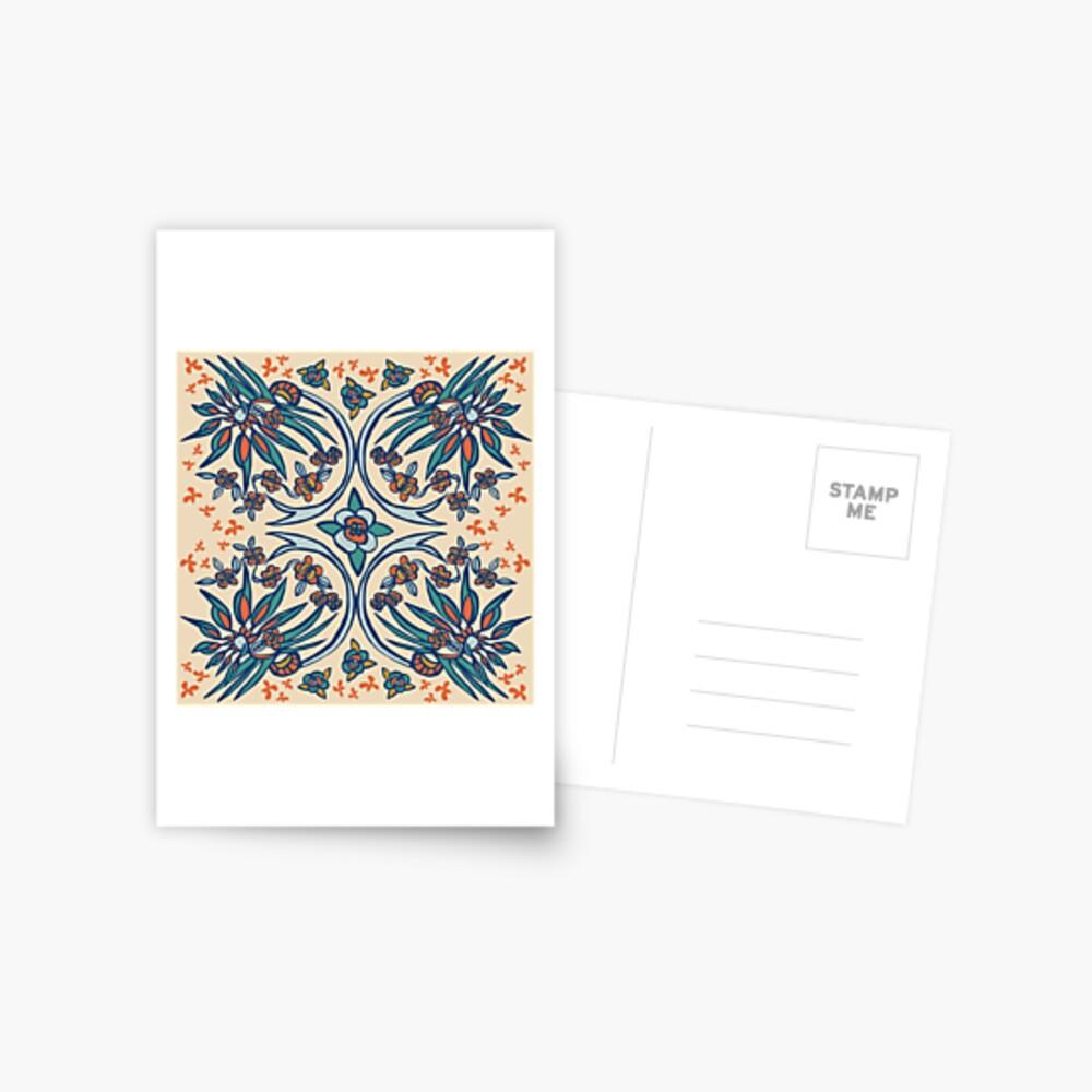 Blue Ridge Paradise Flower Postcard