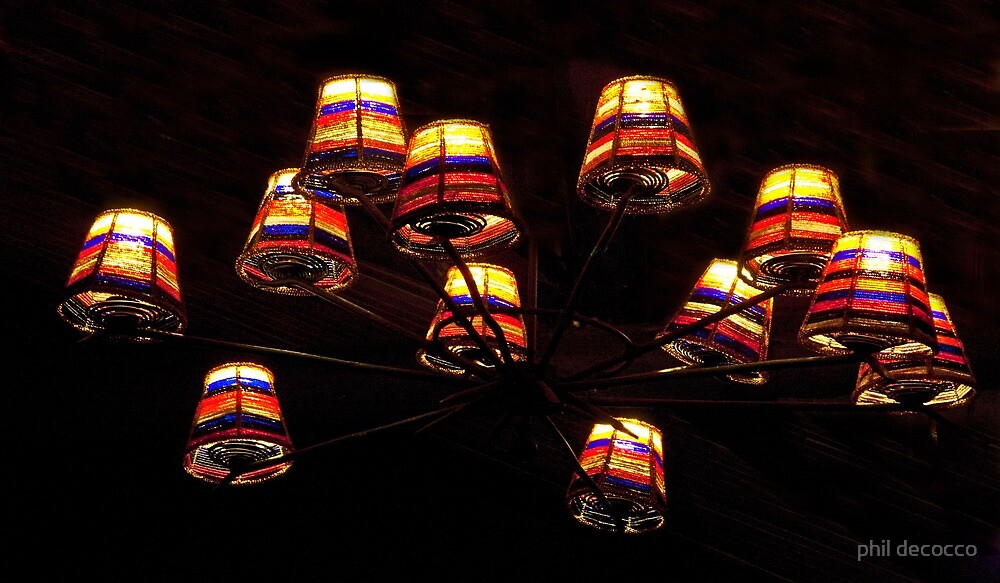 Wheel Of Lights by phil decocco