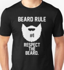 Beard Rule #1 Respect the Beard T-Shirt