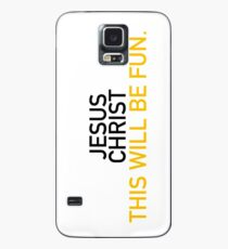 Jesus Christ; Hamilton Case/Skin for Samsung Galaxy