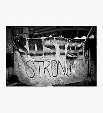 Boston Strong Photographic Print