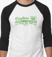 Crafters, Miners and Builders Men's Baseball ¾ T-Shirt