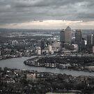 Canary Wharf, London by Jonathan Gazeley