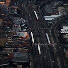 Trains passing by Jonathan Gazeley