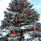 Kennebunkport, ME  Lobster Bouy Tree by MaryinMaine