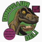 Dinosaur Deli by clockworkmonkey
