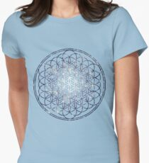 Flower Of Life - Sacred Geometry Star Cluster T-Shirt