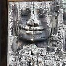 The Bayon, Cambodian Temple by Geoffrey Higges