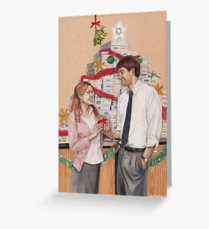 Secret Santa Greeting Card