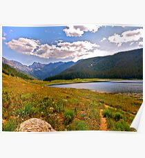 """""""Piney Lake Trail"""" Colorado Poster"""