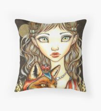 Princess Phoebe and Theodore the Great Throw Pillow
