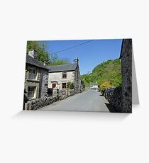 Cottages at Milldale Greeting Card