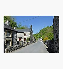 Cottages at Milldale Photographic Print
